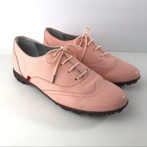 Marc Joseph New York Pink Montrose Golf Shoes